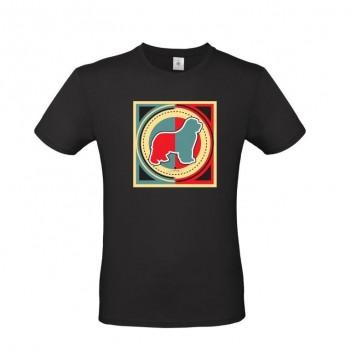 T-Shirt uomo cane Terranova - grafica Newfy Industrial