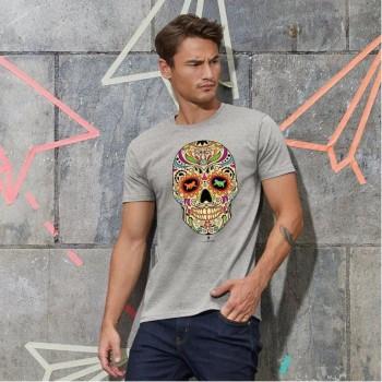 T-Shirt uomo con grafica cane Terranova - La noche de los muertos 2