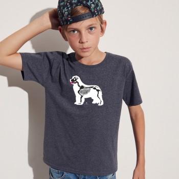 T-Shirt bimbo con grafica Terranova Newfy X Ray
