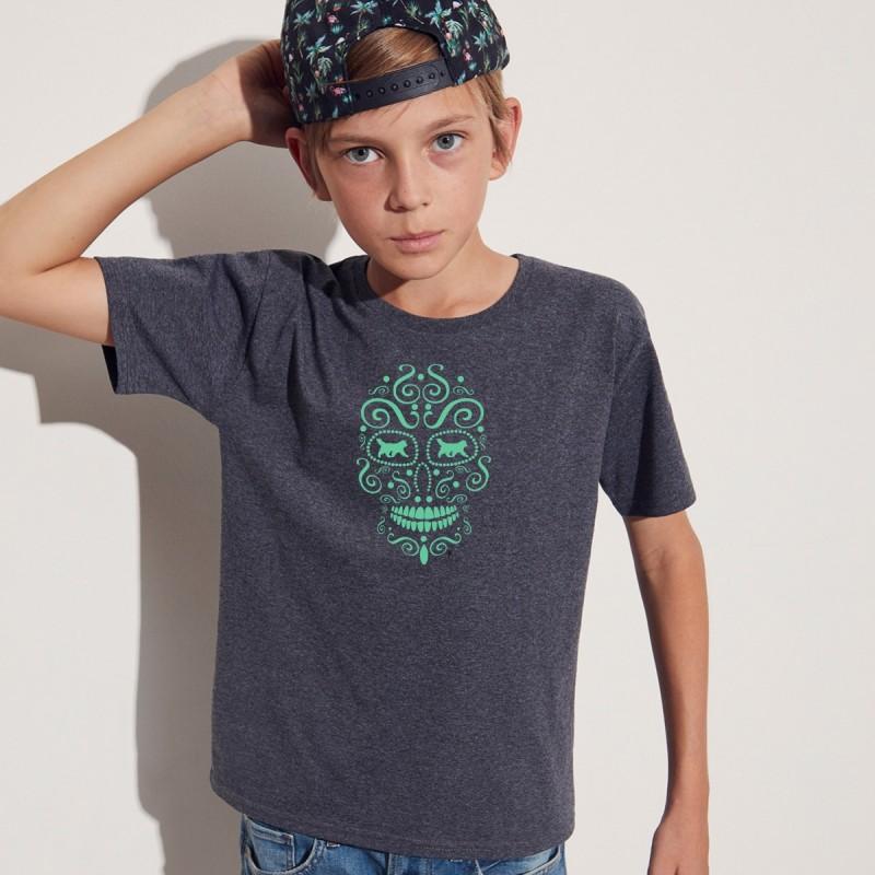 T-Shirt bimbo con grafica Terranova La noche de los muertos 1