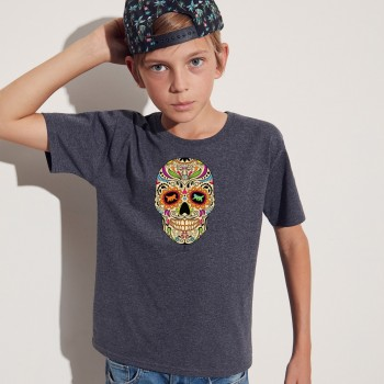 T-shirt bambino con grafica cane Terranova La noche de los muertos 2