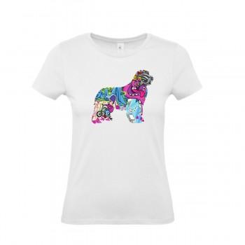 T-Shirt bimba con grafica Terranova Newfy Cartoon