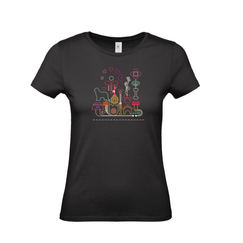 T-Shirt bimba con grafica Terranova Newfy Passion 2