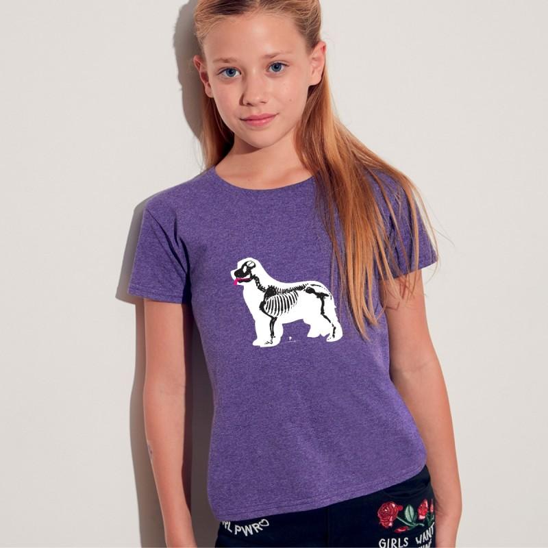 T-Shirt bimba con grafica Terranova Newfy X Ray