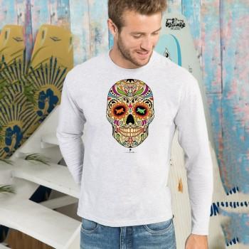 T-shirt manica lunga con grafica cane Terranova Newfy la noche de los muertos 2