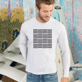 T-shirt manica lunga con grafica cane Terranova Newfy Prince of Wales